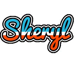 Sheryl america logo