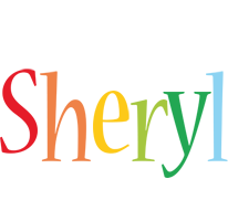 Sheryl birthday logo