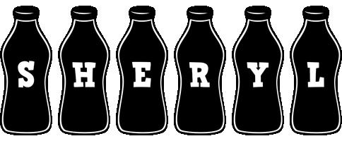 Sheryl bottle logo