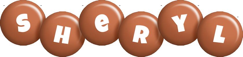 Sheryl candy-brown logo