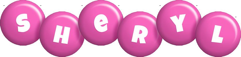 Sheryl candy-pink logo