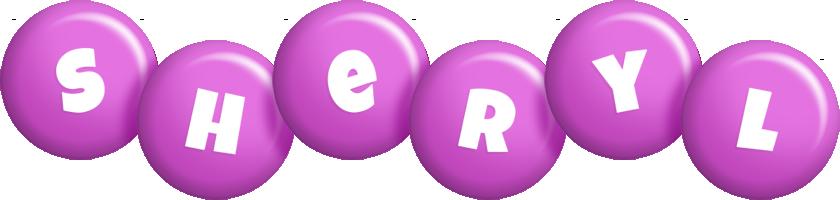Sheryl candy-purple logo