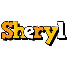 Sheryl cartoon logo