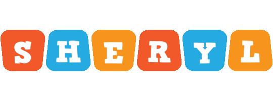 Sheryl comics logo