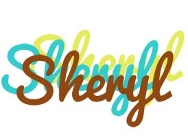 Sheryl cupcake logo