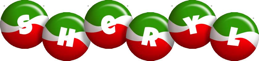 Sheryl italy logo