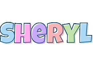 Sheryl pastel logo