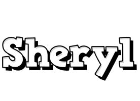 Sheryl snowing logo
