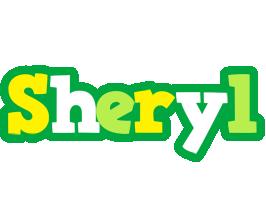 Sheryl soccer logo