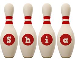 Shia bowling-pin logo