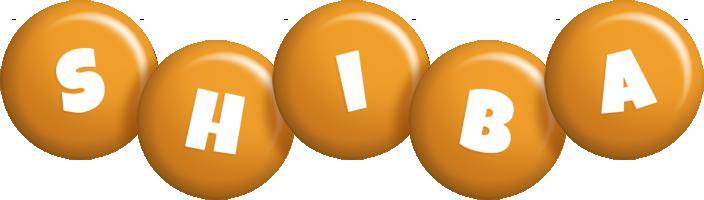Shiba candy-orange logo