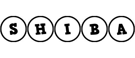 Shiba handy logo