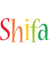 Shifa birthday logo