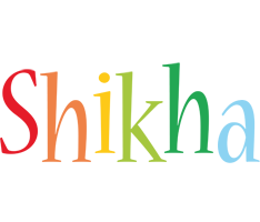 Shikha birthday logo