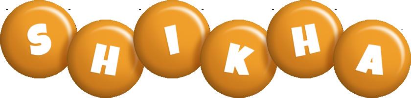 Shikha candy-orange logo