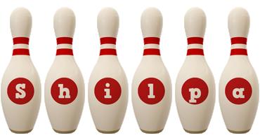 Shilpa bowling-pin logo
