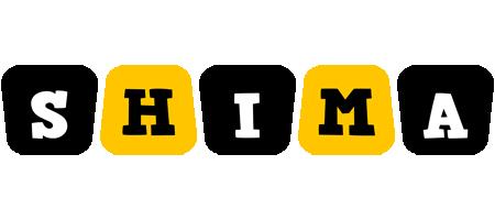 Shima boots logo