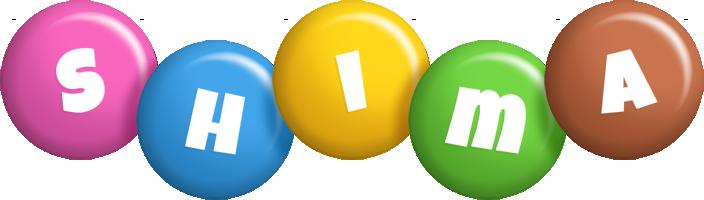 Shima candy logo