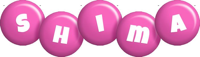 Shima candy-pink logo