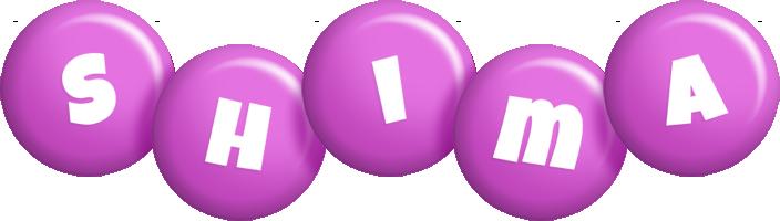 Shima candy-purple logo