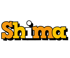 Shima cartoon logo