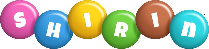Shirin candy logo