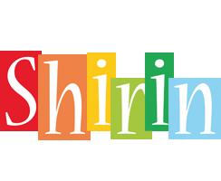 Shirin colors logo