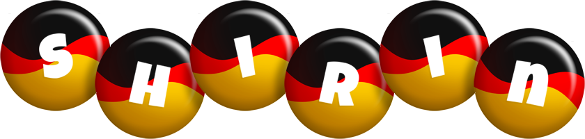 Shirin german logo