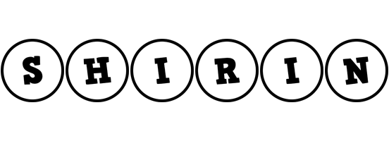 Shirin handy logo