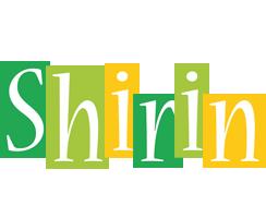 Shirin lemonade logo