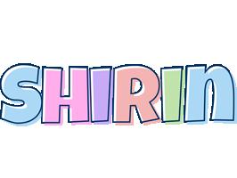 Shirin pastel logo