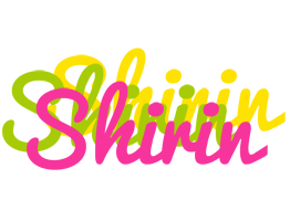 Shirin sweets logo