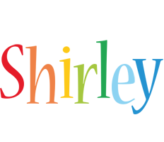 Shirley birthday logo