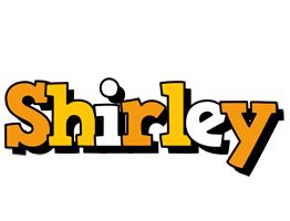 Shirley cartoon logo