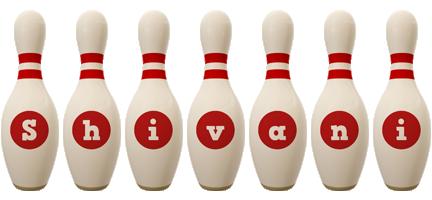 Shivani bowling-pin logo