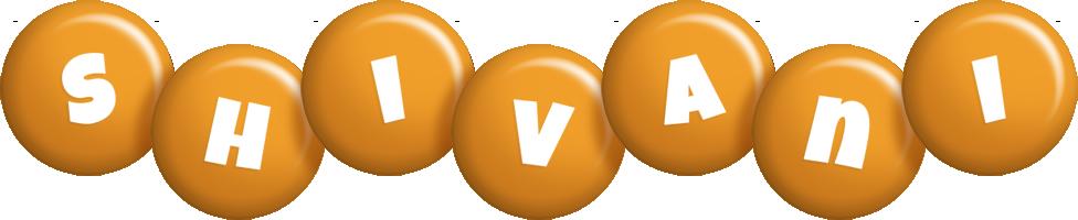 Shivani candy-orange logo