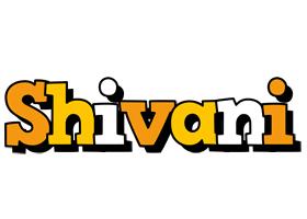 Shivani cartoon logo