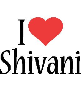Shivani i-love logo