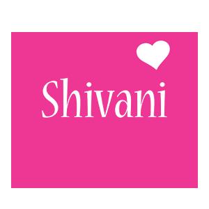 Shivani love-heart logo