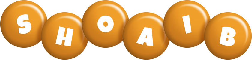 Shoaib candy-orange logo