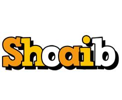 Shoaib cartoon logo