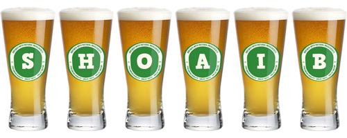 Shoaib lager logo