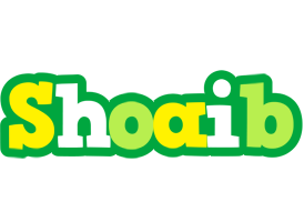 Shoaib soccer logo