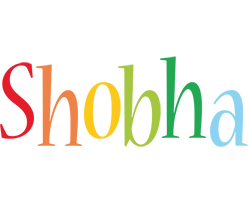 Shobha birthday logo