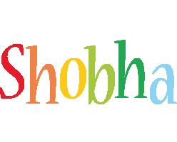 Shobha birthday logo