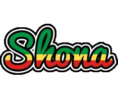 Shona african logo