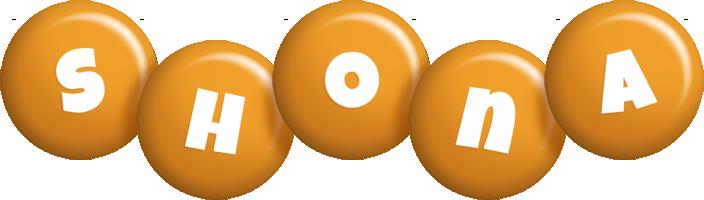 Shona candy-orange logo