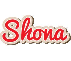 Shona chocolate logo