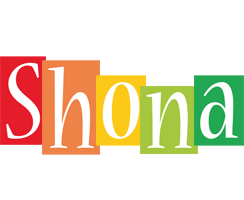 Shona colors logo