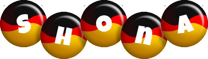 Shona german logo